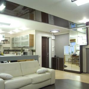 Дизайн квартиры-студии в современной классике