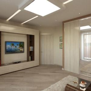 Дизайн интерьера двух-этажного жилого дома