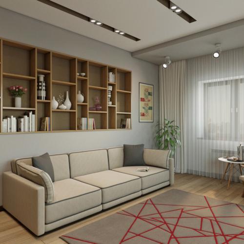 Дом с разнообразием стилей интерьера 2 этаж