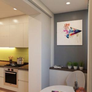 Дизайн 3-комнатной квартиры в минимализме