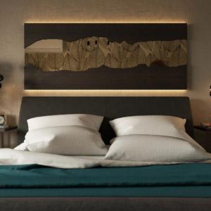 Дизайн интерьера 3-к квартиры в экостиле