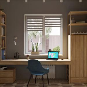 Дизайн жилого одноэтажного дома