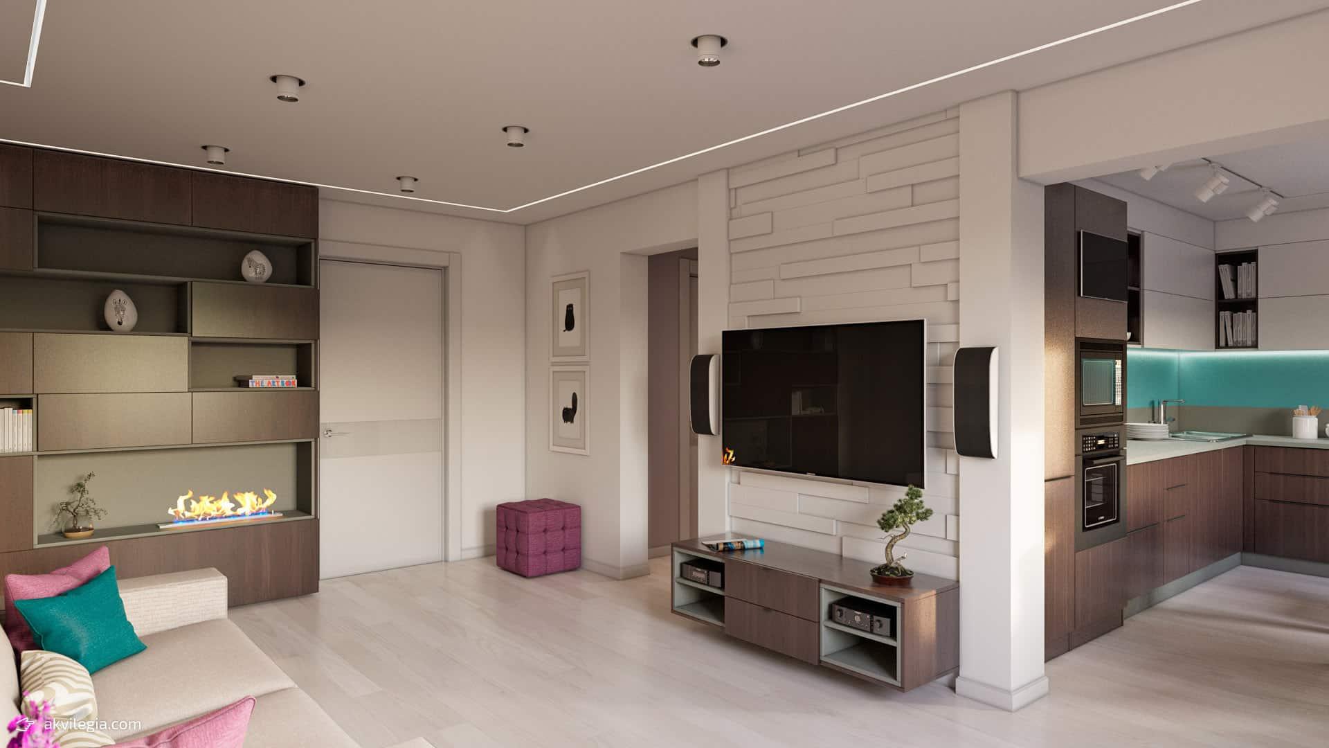 Дизайн квартир четырехкомнатных квартир