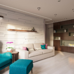 Дизайн 4-комнатной квартиры с подвалом