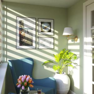 Дизайн 3-комнатной квартиры путешественника