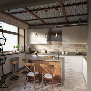 дизайн двухэтажной молодежной квартиры