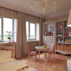 Дизайн-проект детской спальни в доме