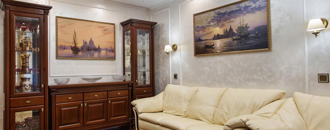 Ремонт квартиры с античным дизайном