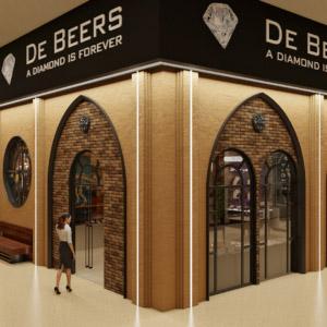 дизайн интерьера салона-магазина ювелирных изделий