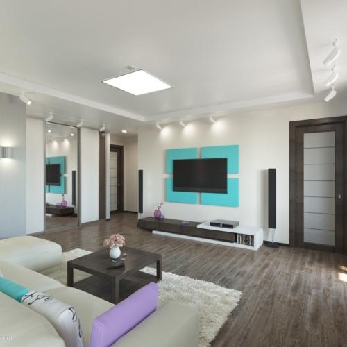 Дизайн-проект квартиры-студии Запорожье