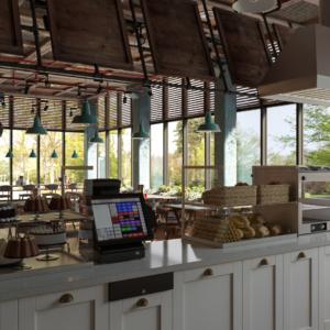 Дизайн и ремонт ресторана Днепропетровск Every Day