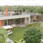 архитектурный дизайн-проект дома (экстерьер)