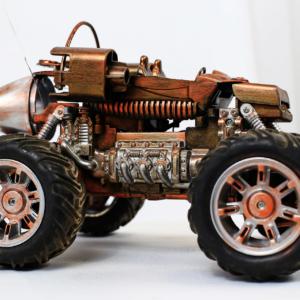 Подарочный сувенир автомобиль на радиоуправлении Багги