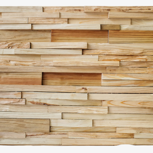 декорирование интерьера 3D панель из натурального дерева
