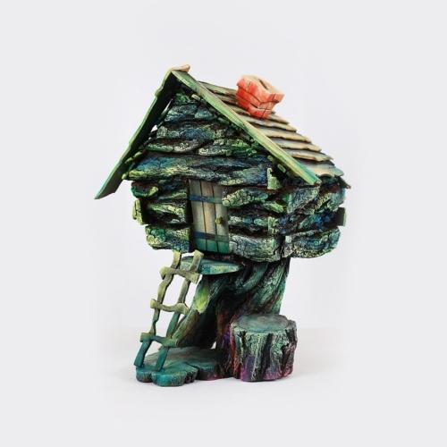 Декор-сувенир для дома копилка бабы Яги