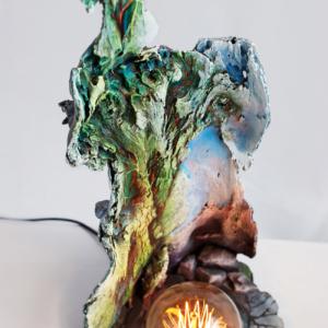 настольный светильник древо жизни