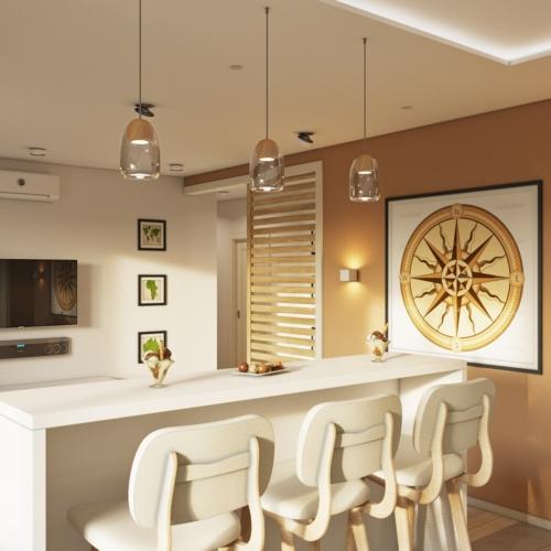 проект дизайна квартиры в эко-стиле