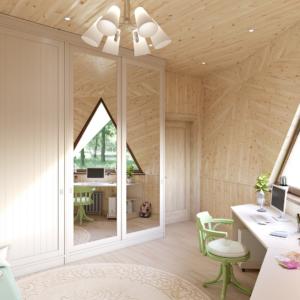 дизайн-проект купольного дома