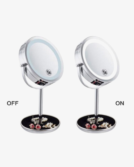 двойное-зеркало-для-макияжа-с-LED--подсветкой-5X-1