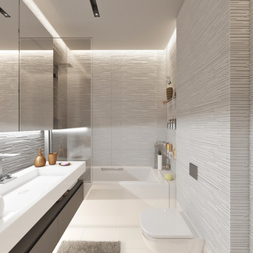 дизайн интерьера трехкомнатной квартиры в конструктивизме