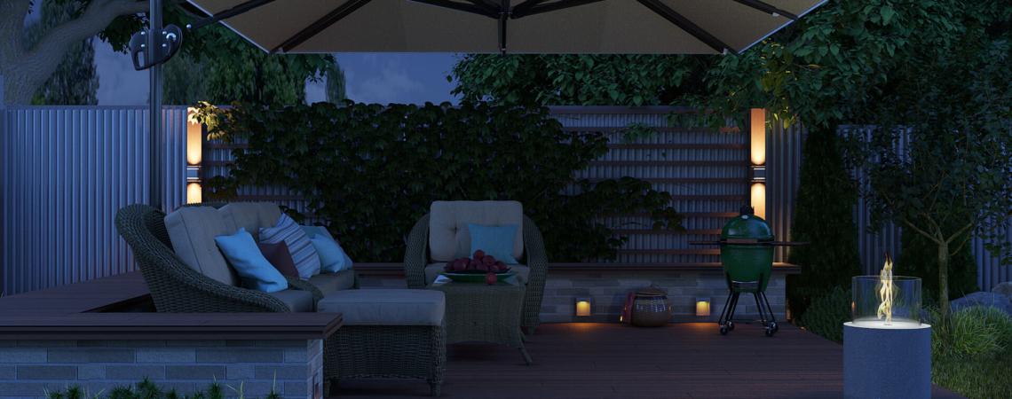 Дизайн-проект  зоны отдыха