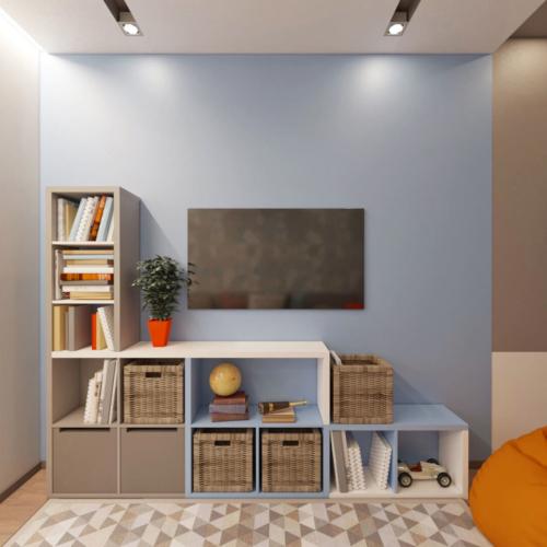 дизайн четырехкомнатной квартиры в новостройке