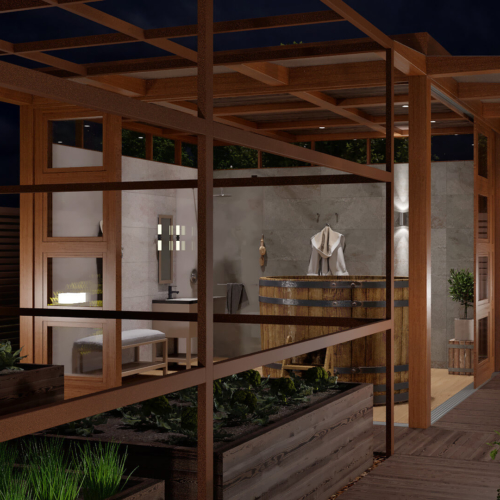 дизайн проект реконструкции дома экстерьер