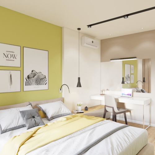 Дизайн квартиры Киев спальня