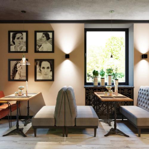 дизайн интерьера кафе-бара