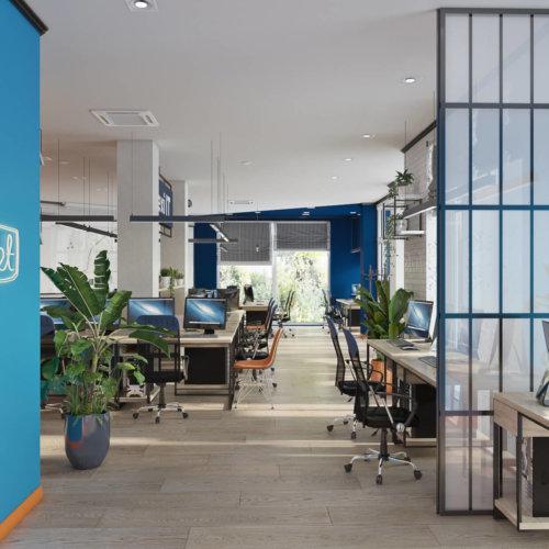 Дизайн офиса IT компании