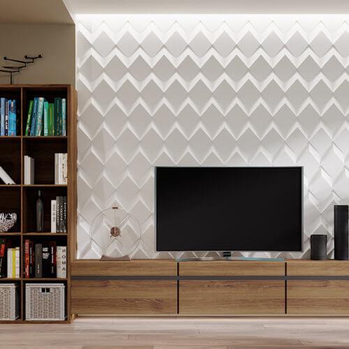 дизайн интерьера квартиры в новостройке кабинет