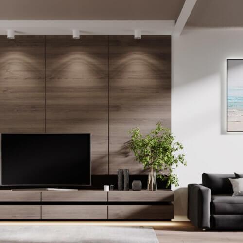 дизайн интерьера квартиры в новостройке спальня