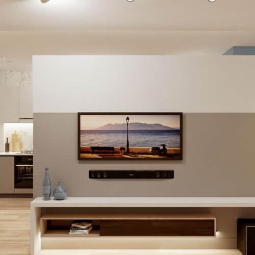 дизайнерский ремонт трехкомнатной квартиры в новостройке