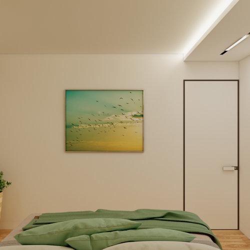дизайн проект трехкомнатной квартиры в новостройке спальня