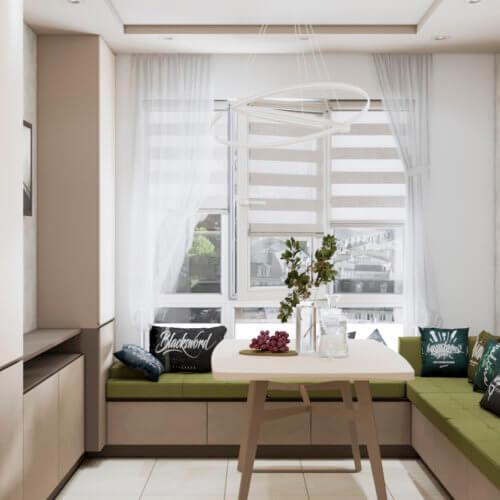 дизайн трехкомнатной квартиры Запорожье
