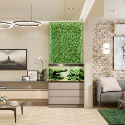 дизайн трехкомнатной квартиры лофт