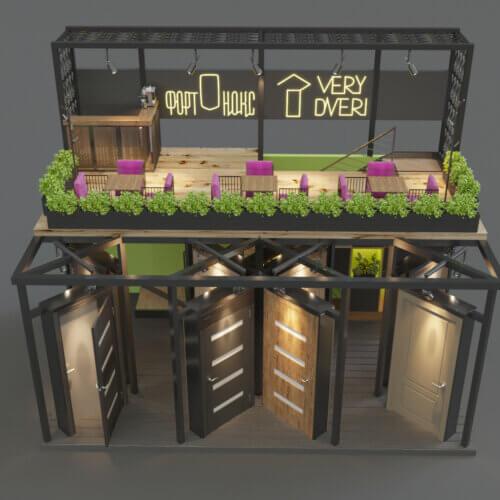 дизайн проект выставочного стенда