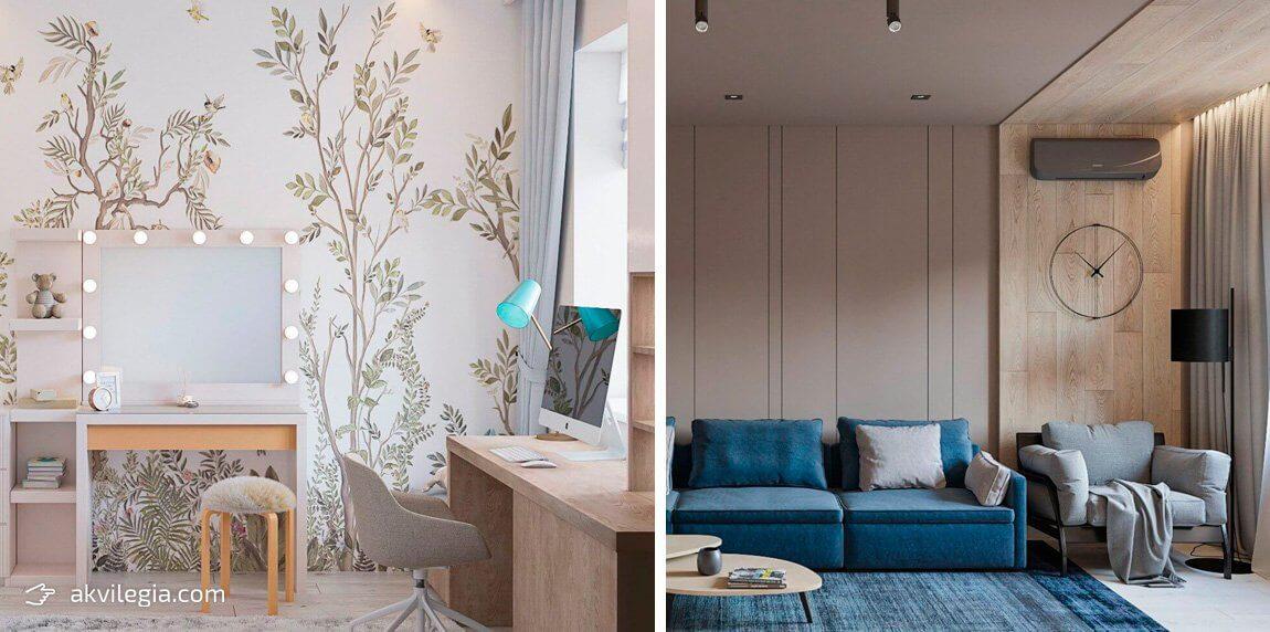 дизайн проект интерьера двухкомнатной квартиры запорожье