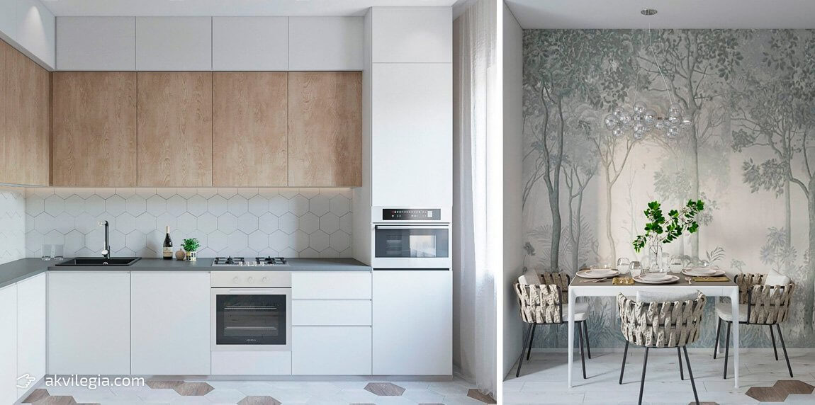 современный дизайн квартиры в минимализме