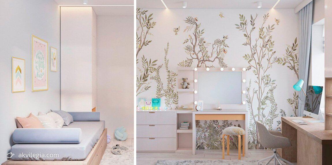 современный дизайн квартиры детская
