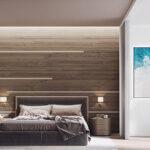 дизайн минималистической спальни