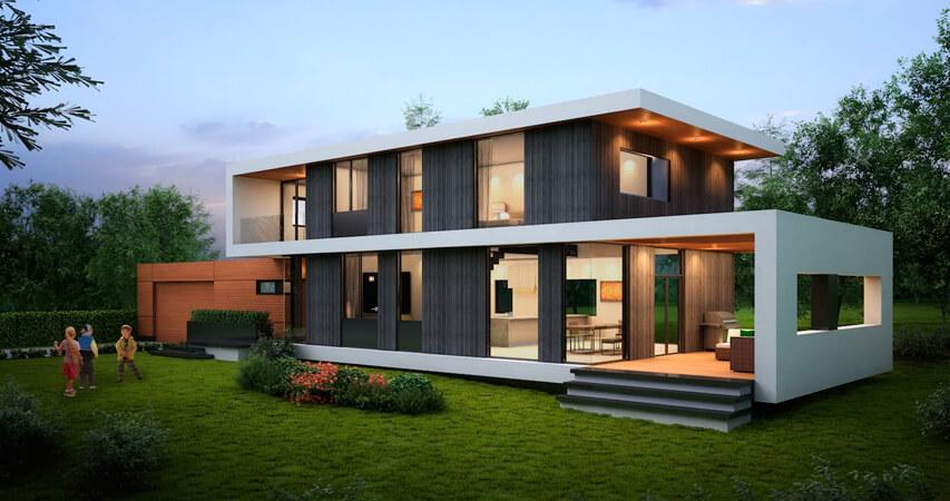 дизайн пассивного дома