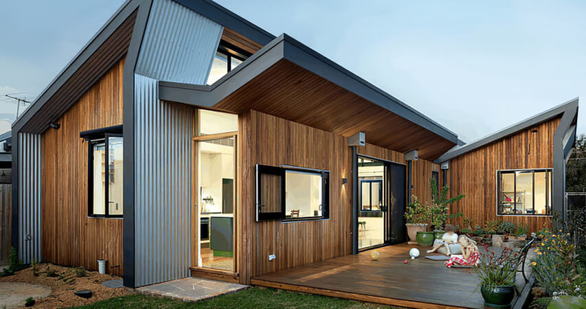 пассивный солнечный дом
