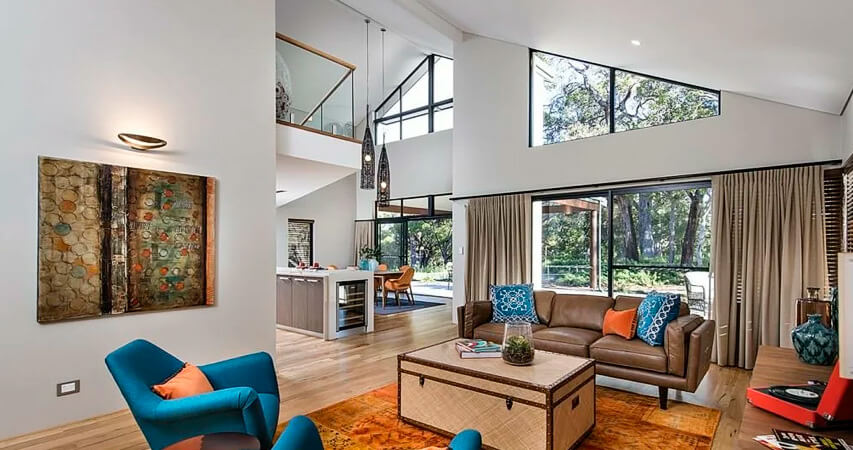 австрайлийский стиль в дизайне интерьера