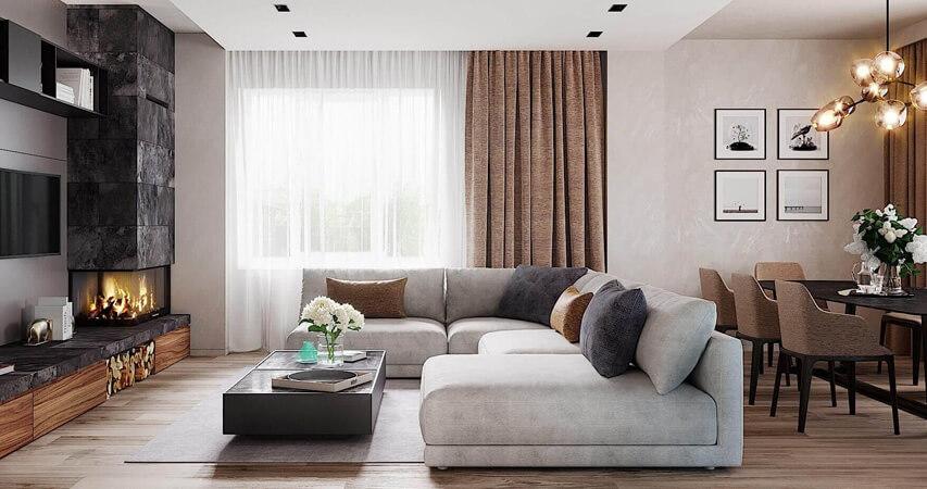 дизайн дома стили интерьера комнат