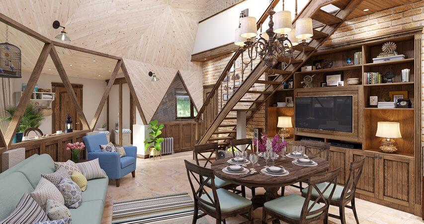 дизайн интерьера дома тенденции в современном интерьере