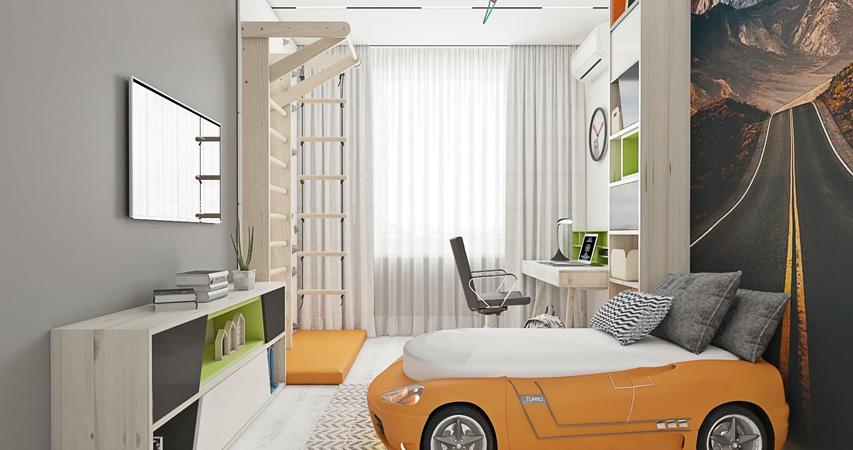 дизайн и ремонт десткой комнаты