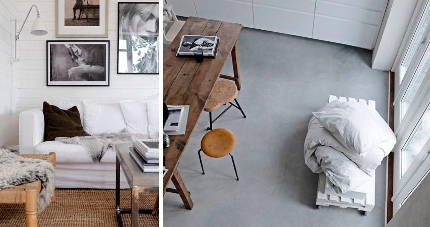 софтминимализм в дизайне квартиры