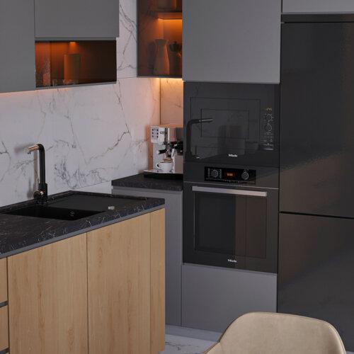 дизайн дома 1й этаж кухня
