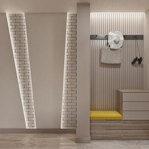 дизайнерский ремонт квартиры